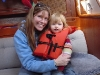 Elizabeth and Skyler\'s first sail