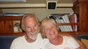 Virginia and Bob board Slow Dancing